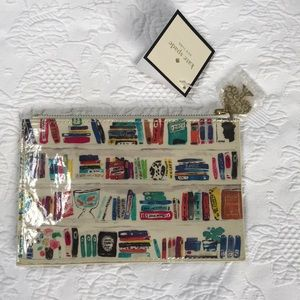 Kate Spade Like a Book Pencil Pouch